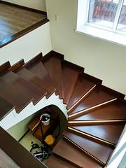 Лестница из дуба - foto 0